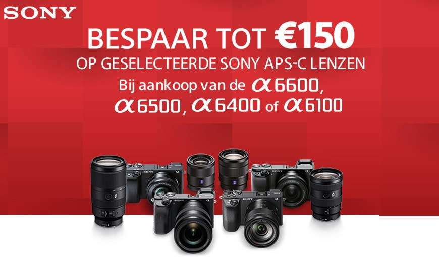 Sony lenspromotie