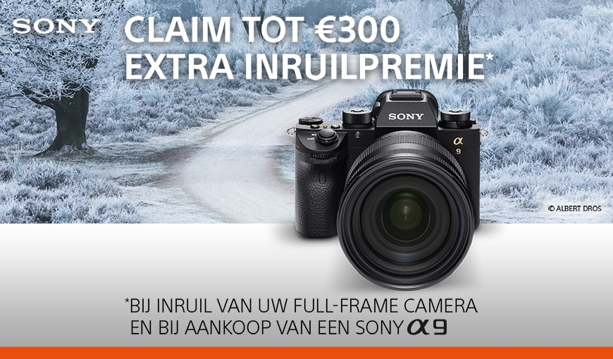 Sony A9 inruil