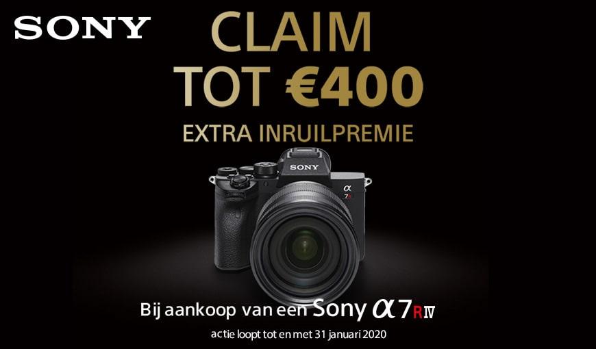 Sony A7R IV Extra inruil premie