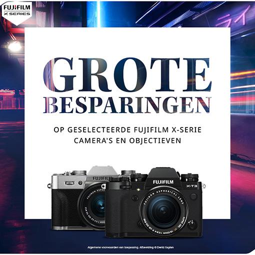 Fujifilm X Kassakorting