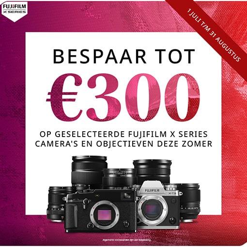 Fujifilm Summer Combi Korting X-Pro3