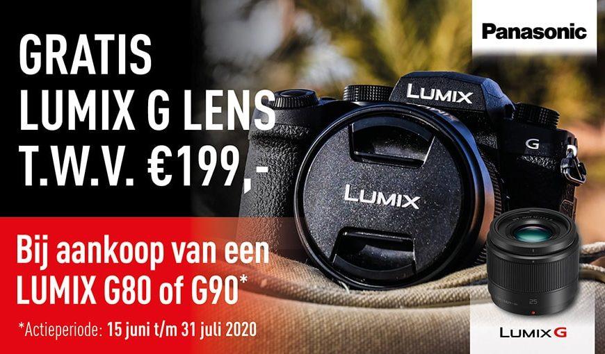 Panasonic gratis Lumix Lens