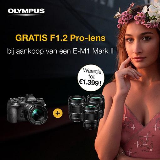 Olympus E-M1 II – Gratis Pro lens