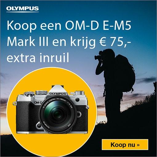 Olympus E-M5 III Inruilbonus