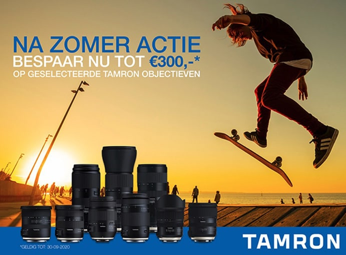 Tamron NaZomerPromotie