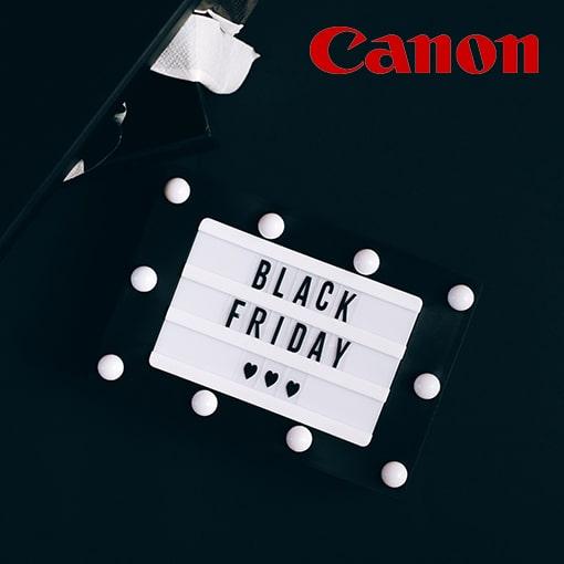 Canon Black Friday aanbieding