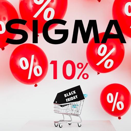 Sigma Black Friday Week Actie