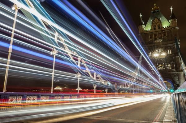 Jonas Borg maakte deze foto van de London Bridge met de LUMIX S1. ISO100, sluitertijd 20sec, F4.0