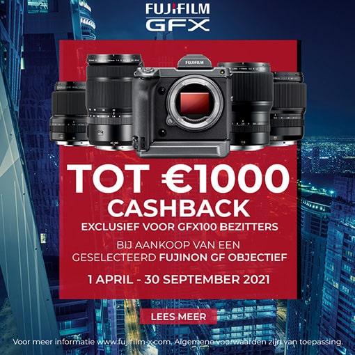 Fujifilm GFX100 Lenspromotie (30-09-2021)