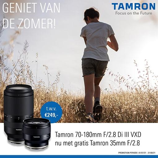 Tamron zomer actie 70-180  (31-08-21)