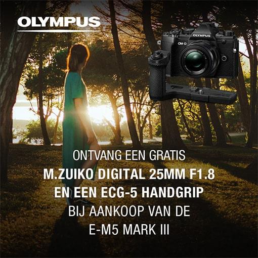 Olympus E-M5 III actie (25-10-21)