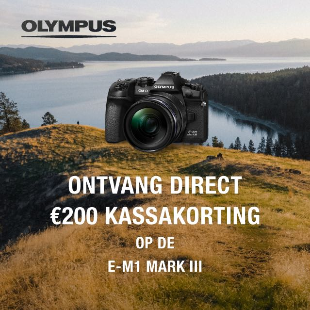 Olympus E-M1 III Kassakorting (25-10-21)